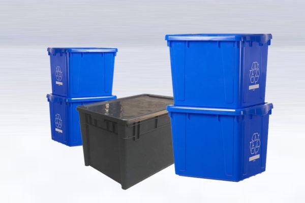 Cajas de plastico